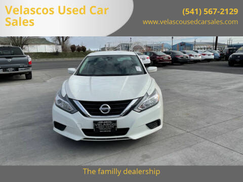 2018 Nissan Altima for sale at Velascos Used Car Sales in Hermiston OR