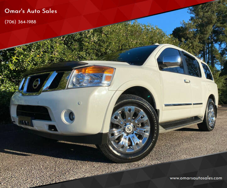 2015 Nissan Armada for sale at Omar's Auto Sales in Martinez GA