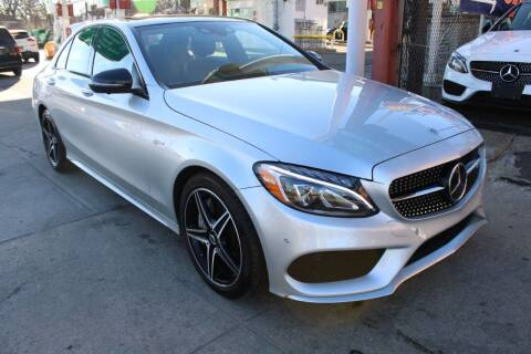 2018 Mercedes-Benz C-Class for sale at LIBERTY AUTOLAND INC in Jamaica NY