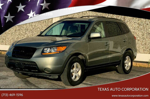 2007 Hyundai Santa Fe for sale at Texas Auto Corporation in Houston TX