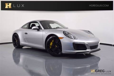 2019 Porsche 911 for sale at HGREG LUX EXCLUSIVE MOTORCARS in Pompano Beach FL
