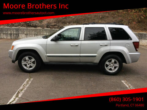 2007 Jeep Grand Cherokee for sale at Moore Brothers Inc in Portland CT