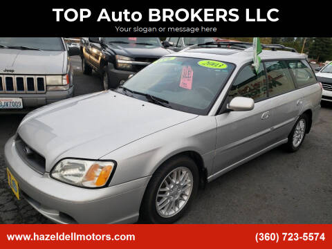 2003 Subaru Legacy for sale at TOP Auto BROKERS LLC in Vancouver WA