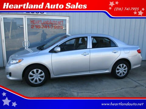 2009 Toyota Corolla for sale at Heartland Auto Sales in Medina OH