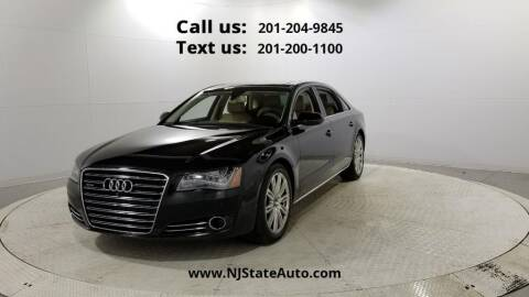 2014 Audi A8 L for sale at NJ State Auto Used Cars in Jersey City NJ