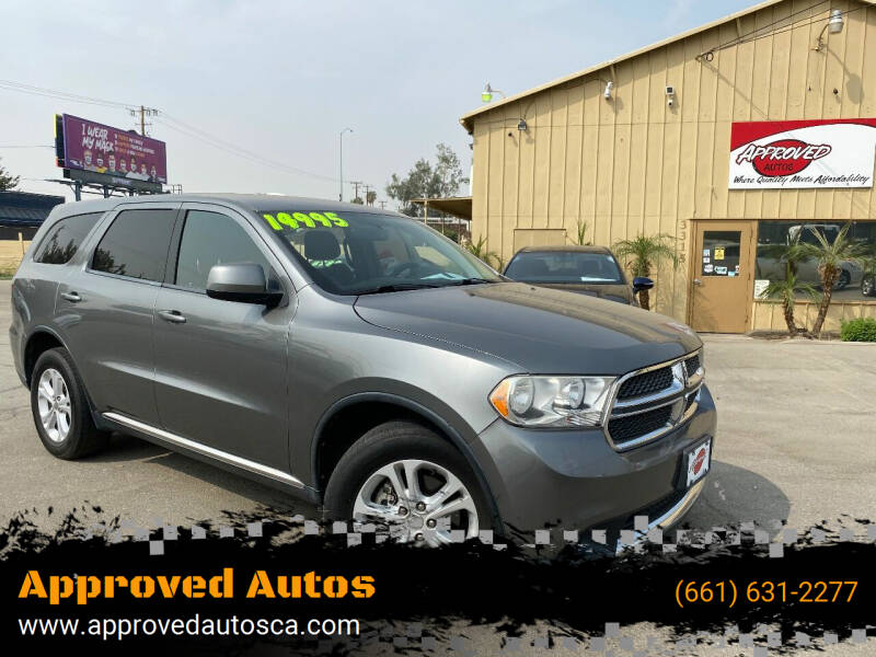 2013 Dodge Durango for sale at Approved Autos in Bakersfield CA