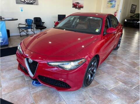2018 Alfa Romeo Giulia for sale at AutoDeals in Daly City CA