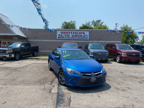 2017 Toyota Camry for sale at Brothers Auto Group in Youngstown OH