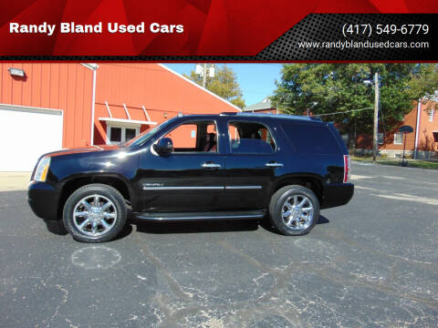 2011 GMC Yukon for sale at Randy Bland Used Cars in Nevada MO