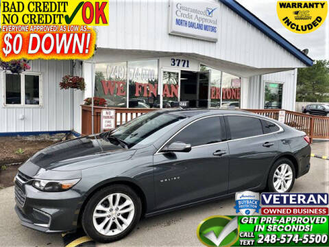 2018 Chevrolet Malibu for sale at North Oakland Motors in Waterford MI
