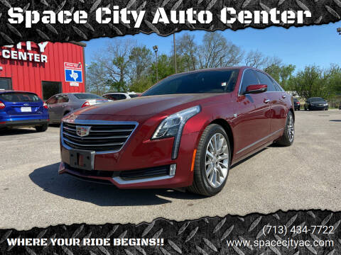 2017 Cadillac CT6 for sale at Space City Auto Center in Houston TX