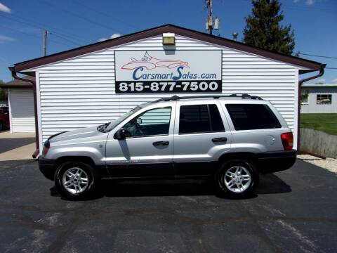 2004 Jeep Grand Cherokee for sale at CARSMART SALES INC in Loves Park IL