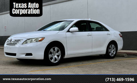 2009 Toyota Camry for sale at Texas Auto Corporation in Houston TX