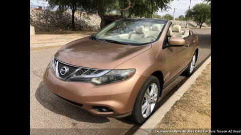 2012 Nissan Murano CrossCabriolet for sale at Noble Motors in Tucson AZ