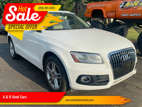 2013 Audi Q5 for sale at A & R Used Cars in Clayton NJ