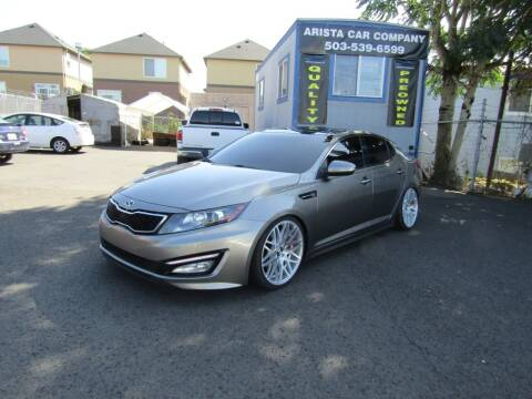 2013 Kia Optima for sale at ARISTA CAR COMPANY LLC in Portland OR