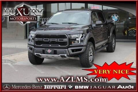 2017 Ford F-150 for sale at Luxury Motorsports in Phoenix AZ