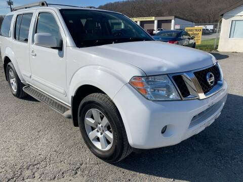 2012 Nissan Pathfinder for sale at Ron Motor Inc. in Wantage NJ