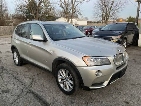 2013 BMW X3 for sale at Stiener Automotive Group in Galloway OH