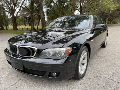 2007 BMW 7 Series for sale at ROADHOUSE AUTO SALES INC. in Tampa FL