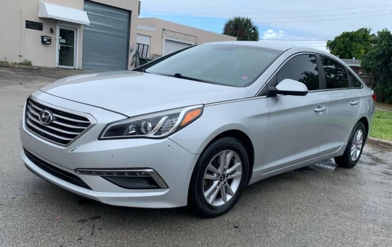 2015 Hyundai Sonata for sale at FINE AUTO XCHANGE in Oakland Park FL