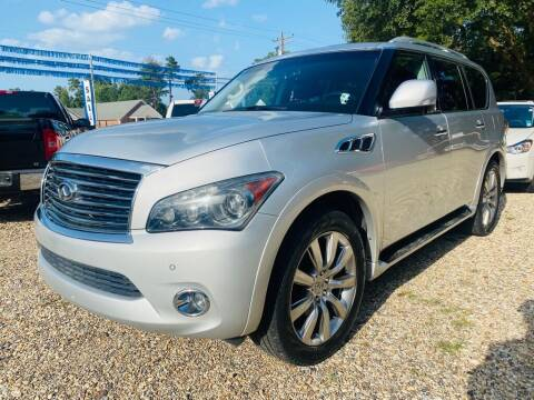 2012 Infiniti QX56 for sale at Southeast Auto Inc in Walker LA