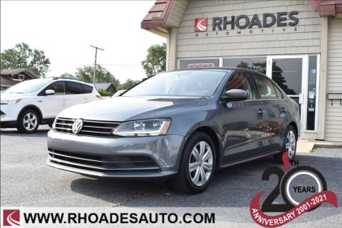 2017 Volkswagen Jetta for sale at Rhoades Automotive in Columbia City IN