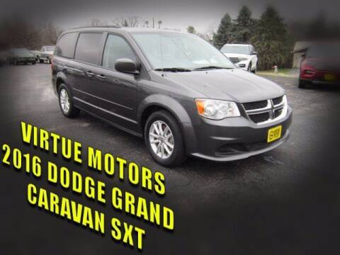 2016 Dodge Grand Caravan for sale at Virtue Motors Used in Darlington WI