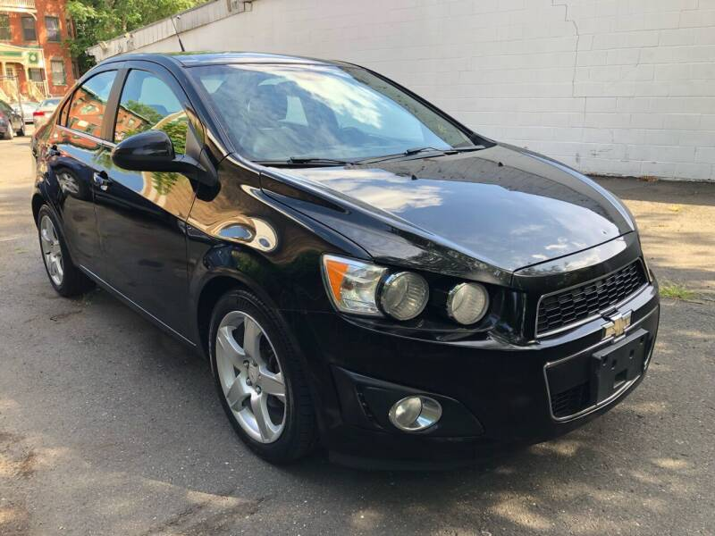 2012 Chevrolet Sonic for sale at James Motor Cars in Hartford CT