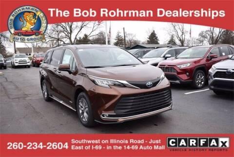2021 Toyota Sienna for sale at BOB ROHRMAN FORT WAYNE TOYOTA in Fort Wayne IN