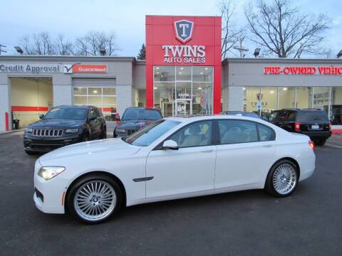 2015 BMW 7 Series for sale at Twins Auto Sales Inc - Detroit in Detroit MI