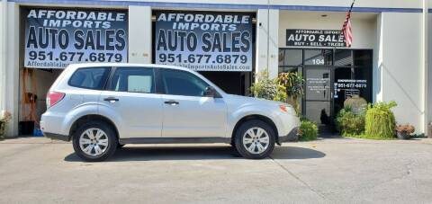 2009 Subaru Forester for sale at Affordable Imports Auto Sales in Murrieta CA