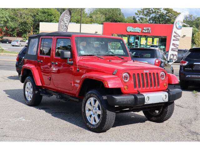 2012 Jeep Wrangler Unlimited for sale at East Providence Auto Sales in East Providence RI