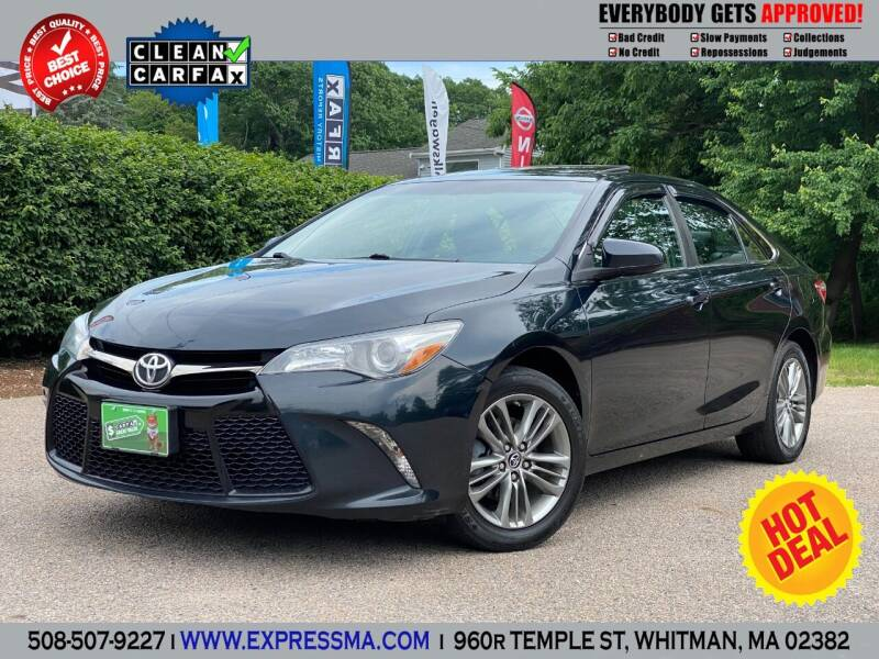 2016 Toyota Camry for sale at Auto Sales Express in Whitman MA