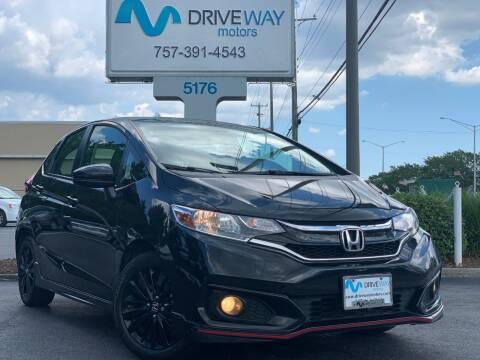 2018 Honda Fit for sale at Driveway Motors in Virginia Beach VA