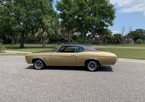 1970 Chevrolet Chevelle for sale at P J'S AUTO WORLD-CLASSICS in Clearwater FL