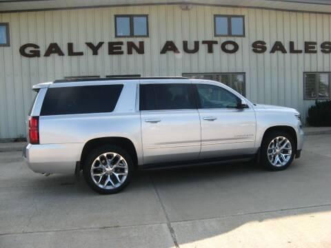 2016 Chevrolet Suburban for sale at Galyen Auto Sales in Atkinson NE