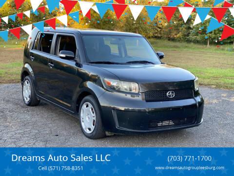 2010 Scion xB for sale at Dreams Auto Sales LLC in Leesburg VA