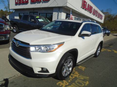 2014 Toyota Highlander for sale at Island Auto Buyers in West Babylon NY