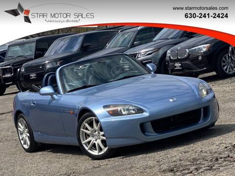 2004 Honda S2000 for sale at Star Motor Sales in Downers Grove IL