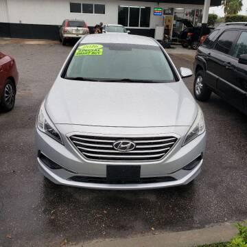 2016 Hyundai Sonata for sale at HCC AUTO SALES INC in Sarasota FL