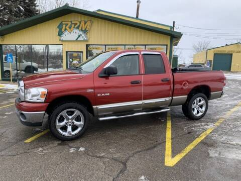 2008 Dodge Ram Pickup 1500 for sale at RPM AUTO SALES in Lansing MI