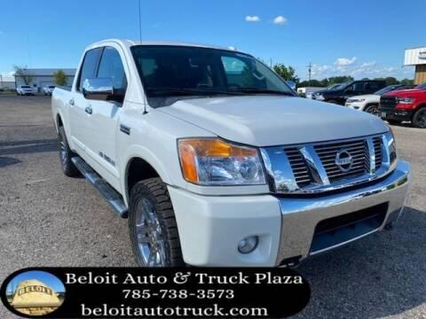 2014 Nissan Titan for sale at BELOIT AUTO & TRUCK PLAZA INC in Beloit KS