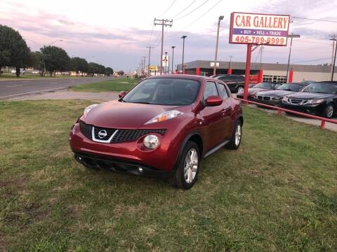 2013 Nissan JUKE for sale at Car Gallery in Oklahoma City OK