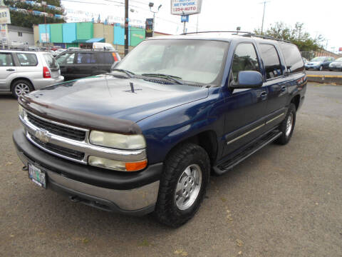 2003 Chevrolet Suburban for sale at Family Auto Network in Portland OR