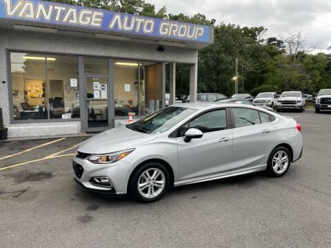 2016 Chevrolet Cruze for sale at Vantage Auto Group in Brick NJ