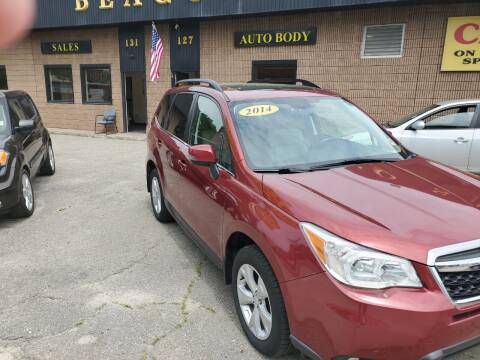 2014 Subaru Forester for sale at Beacon Auto Sales Inc in Worcester MA