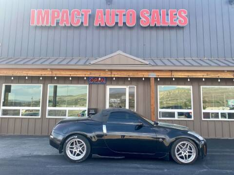 2008 Nissan 350Z for sale at Impact Auto Sales in Wenatchee WA