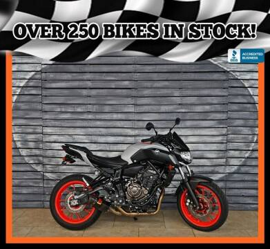 2019 Yamaha MT-07 for sale at AZautorv.com in Mesa AZ
