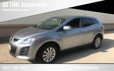 2011 Mazda CX-7 for sale at Go Time Automotive in Sarasota- Bradenton FL